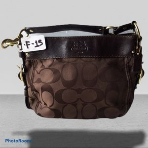 Coach Zoe Hobo Shoulder Bag